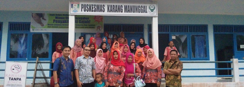 website Resmi puskesmas karang manunggal